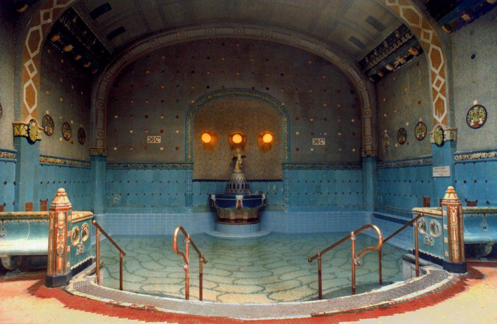 Gellert Thermal Bath Eva Claiborne Hungary Trip