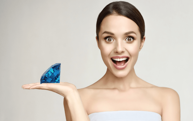 Blue Diamond Facial with a Complimentary Omorovicza Product